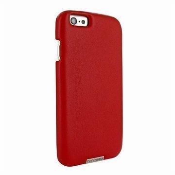 iPhone 6 Plus / 6S Plus Piel Frama FramaGrip Nahkakotelo Punainen