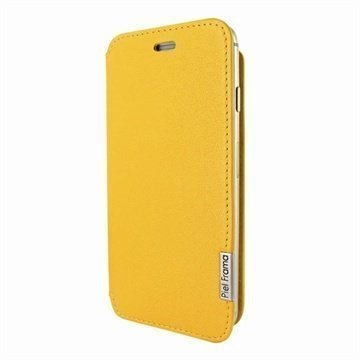 iPhone 6 Plus / 6S Plus Piel Frama FramaSlim Nahkakotelo Keltainen