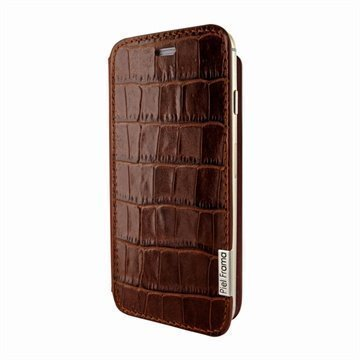 iPhone 6 Plus / 6S Plus Piel Frama FramaSlim Nahkakotelo Krokotiili Ruskea