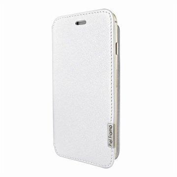 iPhone 6 Plus / 6S Plus Piel Frama FramaSlim Nahkakotelo Valkoinen