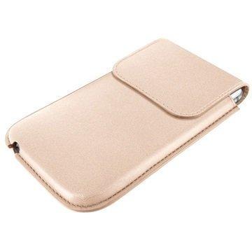 iPhone 6 Plus / 6S Plus Piel Frama Unipur Nahkakotelo Cream