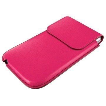 iPhone 6 Plus / 6S Plus Piel Frama Unipur Nahkakotelo Fuchsia
