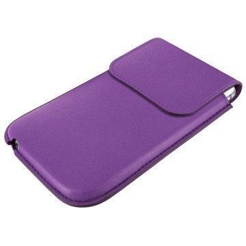 iPhone 6 Plus / 6S Plus Piel Frama Unipur Nahkakotelo Violetti