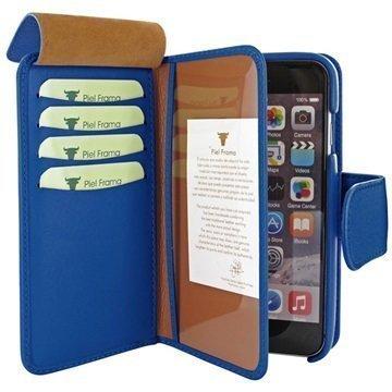 iPhone 6 Plus / 6S Plus Piel Frama iMAGNUM Lompakkomallinen Nahkakotelo Sininen