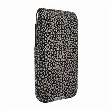 iPhone 6 Plus / 6S Plus Piel Frama iMagnum Nahkainen Suojakotelo Keihäsrausku kuvioitu musta