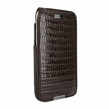 iPhone 6 Plus / 6S Plus Piel Frama iMagnum Nahkakotelo Lisko Ruskea