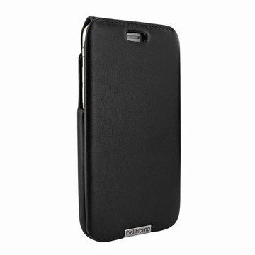 iPhone 6 Plus / 6S Plus Piel Frama iMagnum Nahkakotelo Musta
