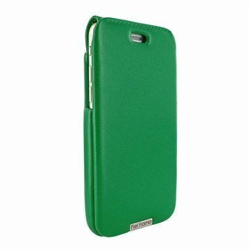 iPhone 6 Plus / 6S Plus Piel Frama iMagnum Nahkakotelo Vihreä
