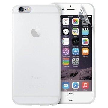iPhone 6 Plus / 6S Plus Puro 0.3 Ultra Slim Silikonikotelo Läpikuultava