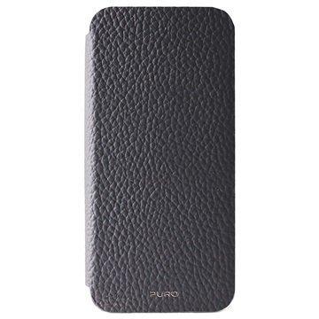 iPhone 6 Plus / 6S Plus Puro Business Lompakkomallinen Nahkakotelo Harmaa