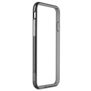 iPhone 6 Plus / 6S Plus Puro Silicone Bumper Black