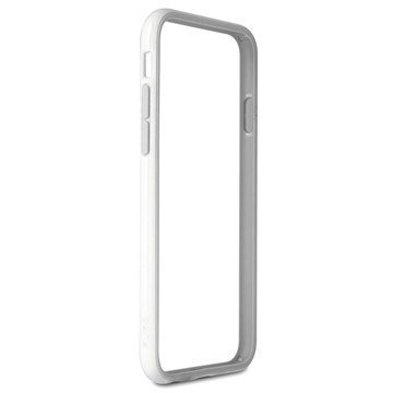 iPhone 6 Plus / 6S Plus Puro Silicone Bumper White