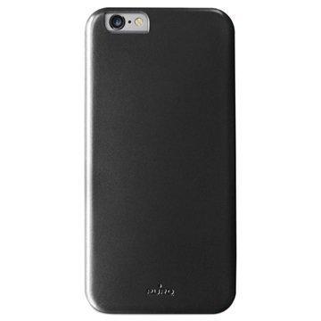 iPhone 6 Plus / 6S Plus Puro Vegan Kova Kotelo Musta