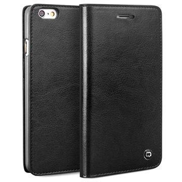 iPhone 6 Plus / 6S Plus Qialino Classic Wallet Leather Case Black