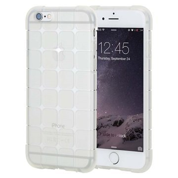 iPhone 6 Plus / 6S Plus Rock Cubee Series TPU-Kotelo Läpinäkyvä