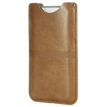 iPhone 6 Plus / 6S Plus Rock Slim Kotelo Ruskea