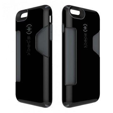 iPhone 6 Plus / 6S Plus Speck CandyShell Korttikotelo Musta