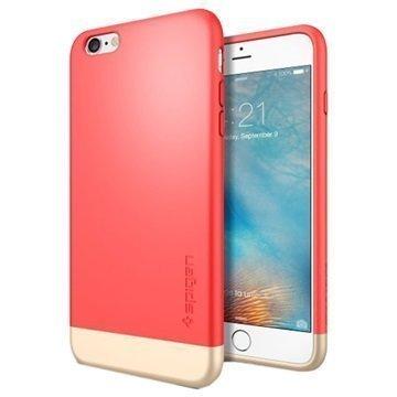 iPhone 6 Plus / 6S Plus Spigen Style Armor Kotelo Italian Ruusu