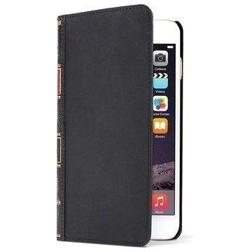 iPhone 6 Plus / 6S Plus Twelve South BookBook Nahkainen Lompakkokotelo Musta