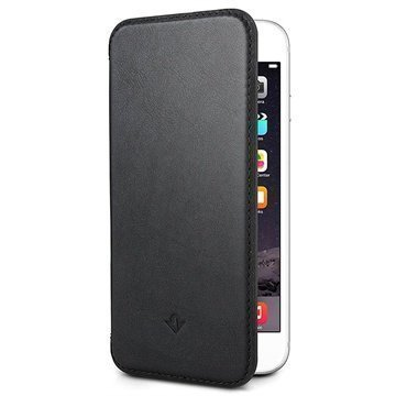 iPhone 6 Plus / 6S Plus Twelve South SurfacePad Nahkakotelo Musta