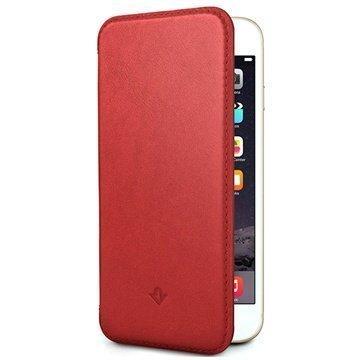 iPhone 6 Plus / 6S Plus Twelve South SurfacePad Nahkakotelo Punainen