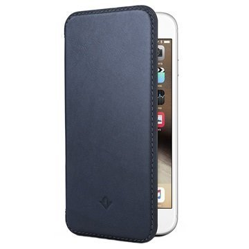 iPhone 6 Plus / 6S Plus Twelve South SurfacePad Nahkakotelo Yönsininen