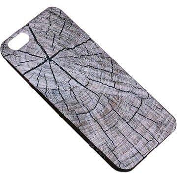 iPhone 6 Plus / 6S Plus Usams Wood Grain TPU-Kotelo Harmaa