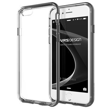 iPhone 6 Plus / 6S Plus VRS Design New Crystal Bumper Series Kotelo Teräksenhopea
