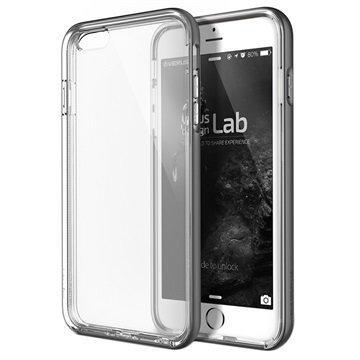 iPhone 6 Plus / 6S Plus Verus Crystal Bumper Series Kotelo Teräksisen Hopea
