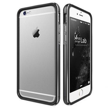 iPhone 6 Plus / 6S Plus Verus Iron Series Suojareunus Musta / Titaani