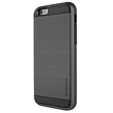 iPhone 6 Plus / 6S Plus Verus Verge Series Kotelo Teräksisen Hopea
