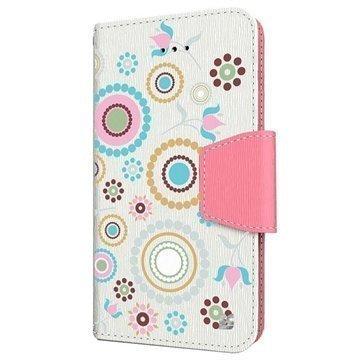 iPhone 6 Plus Beyond Cell Infolio Design Nahkainen Lompakkokotelo Ympyräkollaari