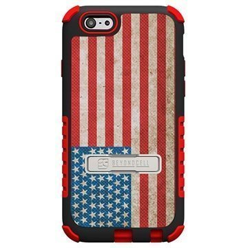 iPhone 6 Plus Beyond Cell Tri Shield Design Hybrid Suojakuori American Flag