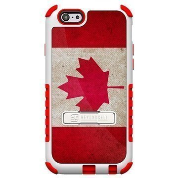 iPhone 6 Plus Beyond Cell Tri Shield Design Hybrid Suojakuori Canada Flag