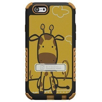 iPhone 6 Plus Beyond Cell Tri Shield Design Hybrid Suojakuori Giraffe