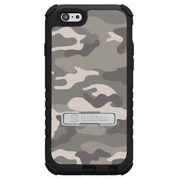 iPhone 6 Plus Beyond Cell Tri Shield Design Hybrid Suojakuori Sand Camouflage