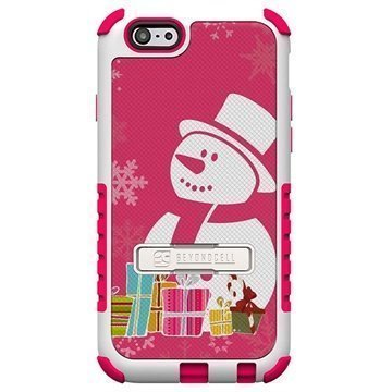 iPhone 6 Plus Beyond Cell Tri Shield Design Hybrid Suojakuori Snowman