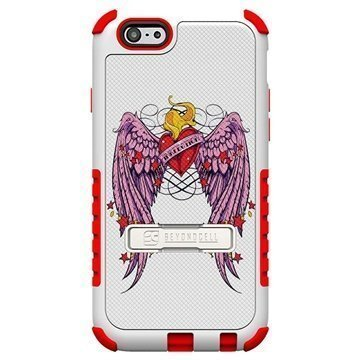 iPhone 6 Plus Beyond Cell Tri Shield Design Hybrid Suojakuori Wing Heart