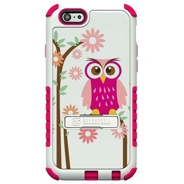 iPhone 6 Plus Beyond Cell Tri Shield Design Hybridikotelo Daisy Owl
