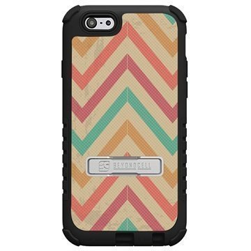 iPhone 6 Plus Beyond Cell Tri Shield Design Hybridikotelo Pastel Chevron