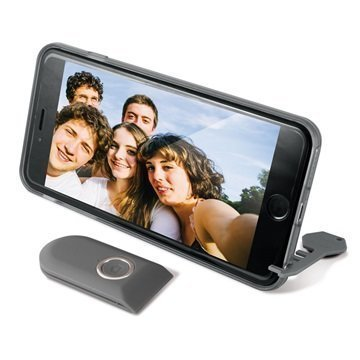 iPhone 6 Plus Ksix Bluetooth-Ohjattava Selfie-Kotelo Musta
