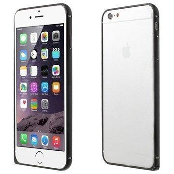 iPhone 6 Plus Love Mei Aluminium Bumper Black
