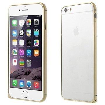 iPhone 6 Plus Love Mei Aluminium Bumper Champagne