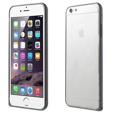 iPhone 6 Plus Love Mei Aluminium Bumper Silver