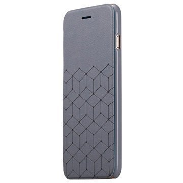 iPhone 6 Plus Momax Be Elite Series Läppäkotelo Harmaa