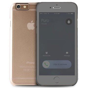 iPhone 6 Plus Puro Sense Läppäkotelo Läpinäkyvä