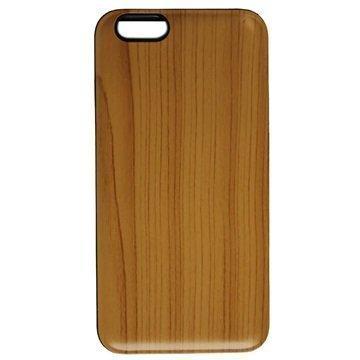 iPhone 6 Plus UreParts Kova Suojakuori Puu Vaaleanruskea