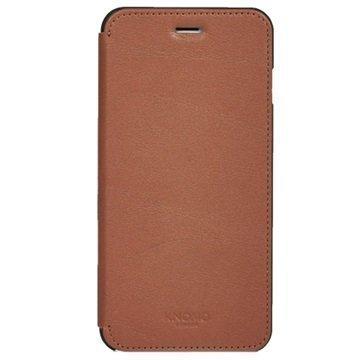 iPhone 6 Plus iPhone 6S Plus Knomo Folio Nahkakotelo Scotch