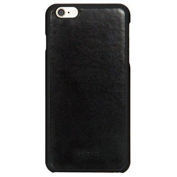 iPhone 6 Plus / iPhone 6S Plus Knomo Nahkainen Kovakotelo Musta