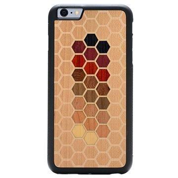 iPhone 6 Plus/6S Plus Carved Traveler Kotelo Kuusikulmio